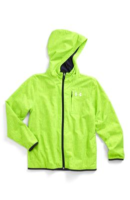 Wind-break jacket for boys