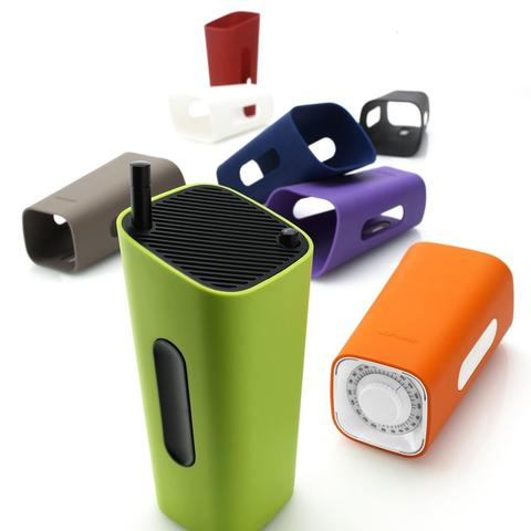 Smart portable radio in orange